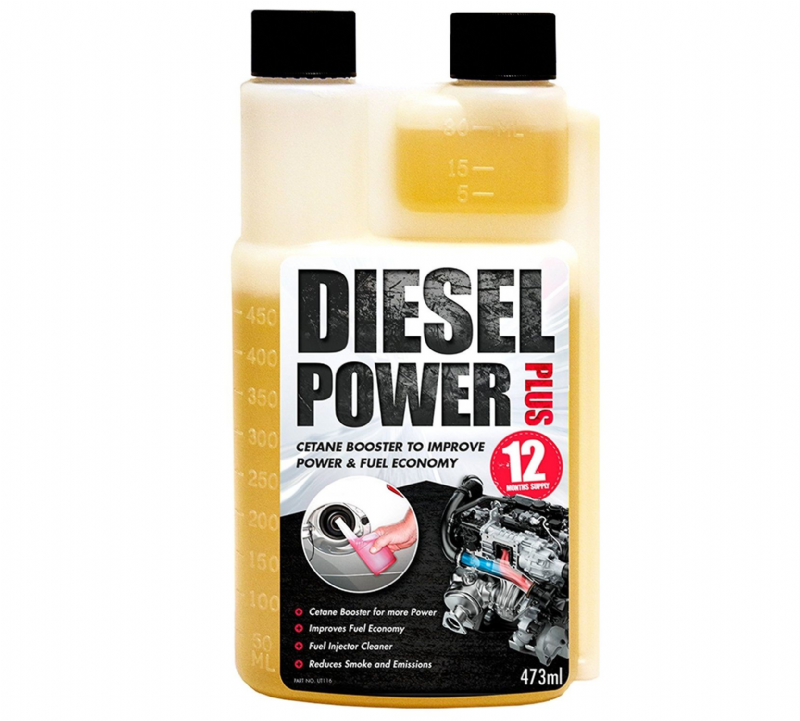 Diesel Power Plus Injector & Injection System Cleaner Reduces Smoke Emissions